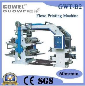 Four-Color Flexo Printing Machine with Ce Certification pictures & photos