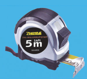 5m ABS+TPR Custom-Design Stainless Retractable Metal Tape Measure pictures & photos
