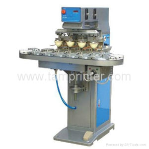 TM-C4-P 4-Color High Efficient CD Tampo Machine with Conveyor pictures & photos