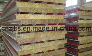 Energy Efficiency Mineral Wool Sandwich Panel pictures & photos