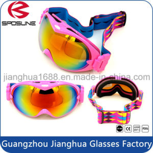 Custom Sport Equipment Promotion Anti Fog Snow Skateboard Goggles Bulk Buy UV Protective Airsoft Skiing Safety Goggle pictures & photos