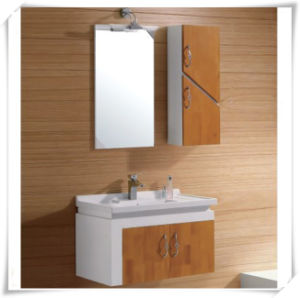 Solid Wood Household Bathroom Cabinet with Washbasin pictures & photos