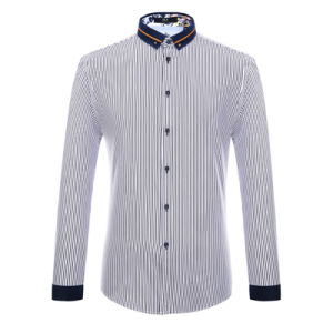 Factory Customized Men′s Design Shirts Fashion Oxford Dress Shirt