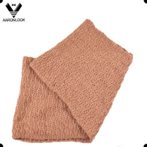 Warm Comfortable Soft Knitted Round Scarf for Sale pictures & photos