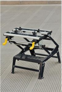6 Position Height Adjustable Aluminium and Steel Workbench Bench Top Woodworking Tools (YH-WB026B) pictures & photos