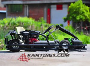 Single Seat Gasoline Cheap Go Kart for Sale pictures & photos
