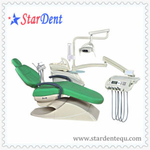 Dental Leather LED Dental Unit/Chair (floor type) pictures & photos
