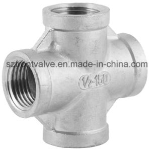 Investment Casting Stainless Steel Threaded Pipe Fittings pictures & photos