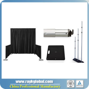 Adjustable Pipe Drape Show Booth Display pictures & photos