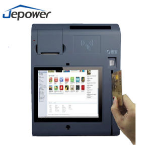 T508 Android Lottery POS Terminal with Printer, Magcard Reader, IC Card Reader, WiFi, 3G pictures & photos