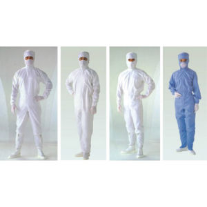 Cleanroom Workwear Safety Protection Working Clothing Antistatic Garments pictures & photos