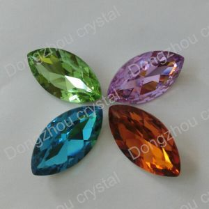 Eyes Shape Crystal Beads (DZ3017) pictures & photos