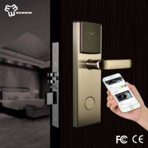 Network RF Card Keyless Door Lock (BW823SB-T) pictures & photos