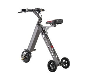 Smartek Easy Carry Lightweight Folding Electric Patinete Electrico Bike 250W with LCD/ LED Display S-018-1 pictures & photos