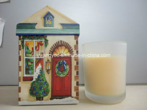 High Quality Pure Soy Wax Christmas Gift Candle pictures & photos