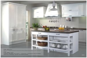 Modern White Oak Solid Wood Kitchen Cabinets
