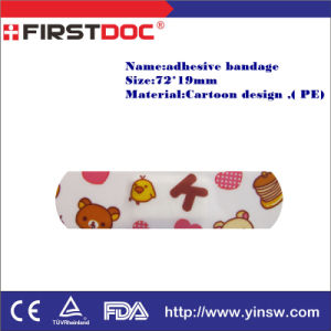 Medical Product Adhesive Bandage with Fancy Design Wholesale 70*18mm pictures & photos