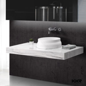 Kingkonree Above Counter Sink / Solid Surface Bathroom Wash Basin pictures & photos