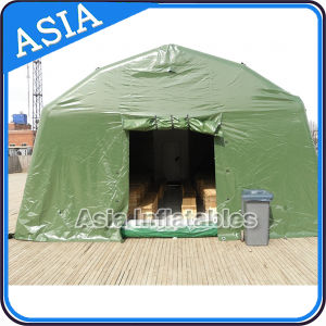 Customized Airtight PVC Inflatable Camping Shelter, Inflatable Camping Tent for Mobile Room, Temporary Structure pictures & photos