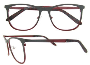 Hot Sell Hand Polished China Large Red Metal Eyeglass pictures & photos