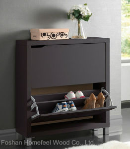 Shoe Storage Cabinet Rack Organizer Shelf Closet (HF-EY0818) pictures & photos