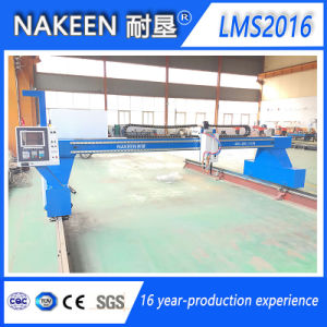 Gantry CNC Gas Steel Cutting Machine for Thick Plate