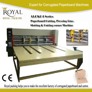 Paperboard Cutting Pressing Slotting & Cutting Corner Machine pictures & photos