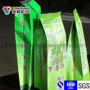 Side Gusset Plastic Packaging Green Tea Bag pictures & photos