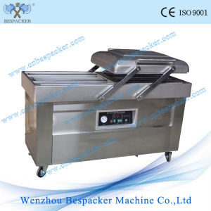 Rice Vacuum Packing Machine with Double Chamber pictures & photos
