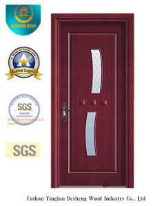 Simple Style MDF Door for Interior with Glass (xcl-845) pictures & photos