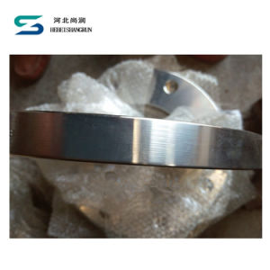 En 1092 Type 01 AISI SS304 Plate Flange FF Dn125 Pn10 for Pipe Fittings pictures & photos
