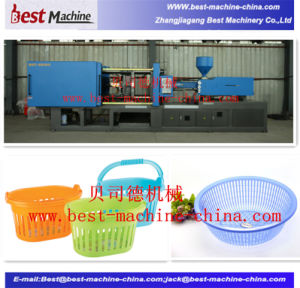 Customized Plastic Storage Basket Injection Making Machine pictures & photos