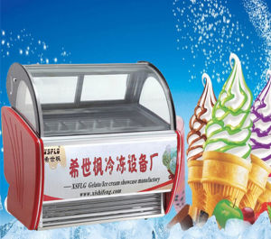 Dipping Ice Cream Cone Display Case pictures & photos
