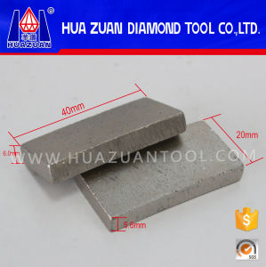 Huazuan High Quality Diamond Segment for Granite Cutting pictures & photos