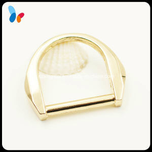 Plating Gold Alloy Metal D Ring Buckle for Bag pictures & photos