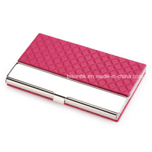 Leather Business Card Holder for Business Gift pictures & photos