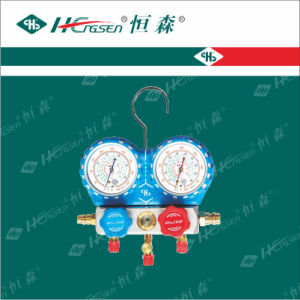 Aluminium Manifold Set / Refrigeration Gauge Set / Pressure Gauge / Refrigeration Tools pictures & photos