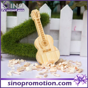 Wholesale Miniature Wooden Guitar USB Flash Drive 8GB pictures & photos