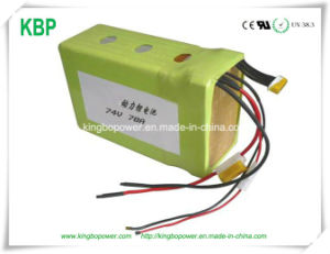 Rechargeable Lithium-Ion Battery for High Power Spot Light