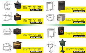 Wall Mount Steel Mailboxes with More Colors pictures & photos