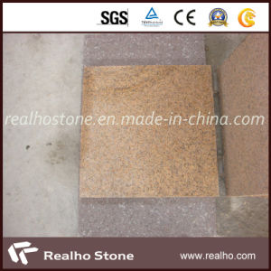 Chinese Polished Putian Yellow Granite Tile for Floor pictures & photos