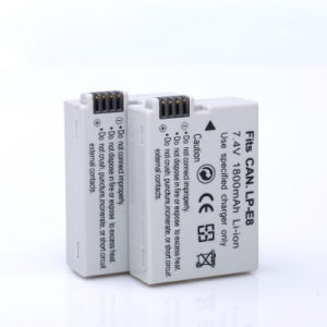 Digital Batteries Li-ion Lp E8 Lpe8 Camera Battery pictures & photos