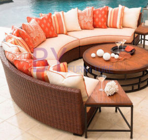 China Factory Direct Wholesale Leisure Aluminium Wicker Rattan Outdoor Patio  Furniture