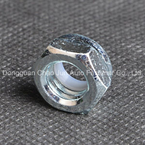 Carbon Steel Nylon Insert Lock Nut Zinc Plated