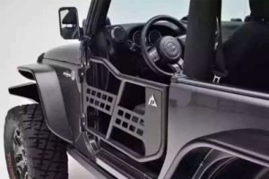 J196)Half Tube Door for Jeep Wrangler Jk with Reflection Mirror pictures & photos