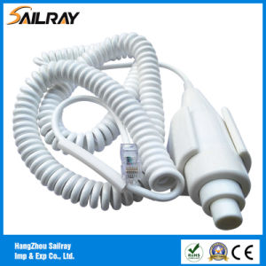 3cores 2.2m Two Step X-ray Hand Switch with RJ45 Connector