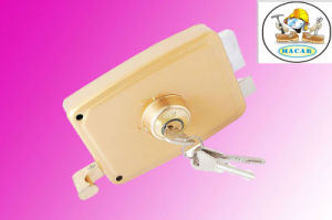 Italy Brass High Quality Deadbolt Door Lock 720 pictures & photos
