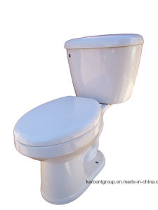 Two Piece Ceramic Sophinic Toilet with Ce Certification 00002