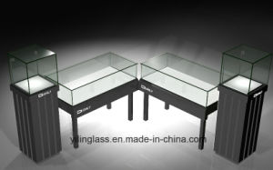 Tempered Display Counter Glass with High Quality Cheap Price pictures & photos