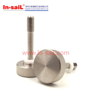 Customized Stainless Steel Knurled Thumb Screw Ni, Plated pictures & photos